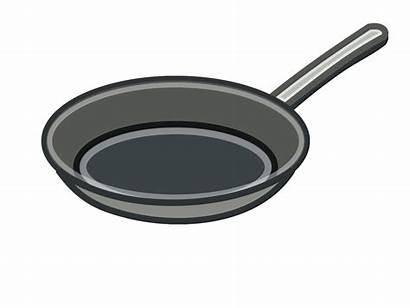 Pan Clipart Pans Pots Frying Cliparts Clip