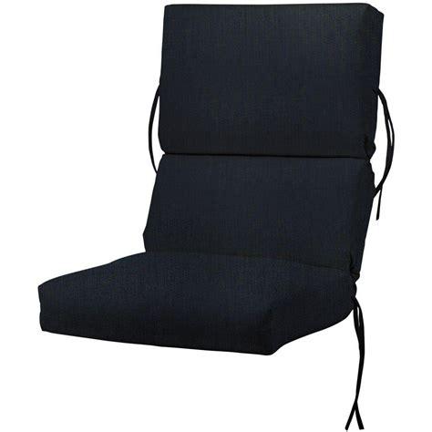 sunbrella blue outdoor dining chair cushion 1573310310