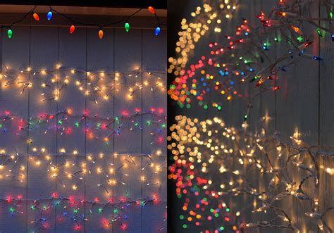 make your own damage free twinkle light wall for the holidays - Make Christmas Lights Twinkle
