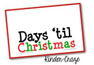 2 More Days till Christmas Clip Art