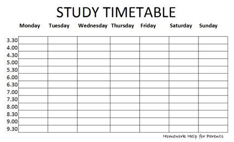 exam timetablepng  classroom pinterest study