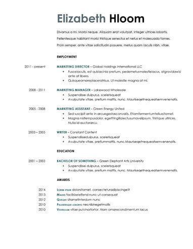 Simple Resume Doc by 2019 Resume Doc Resume Sle Doc Cv Templates Doc