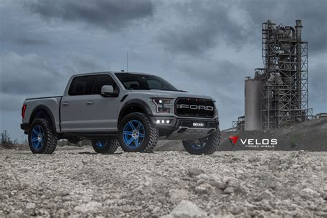gen   avalanche grey ford raptor  velos  forged
