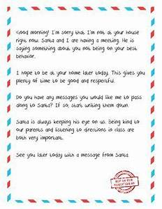 letter from elf to naughty kid free printable when your With letters from santa to your child