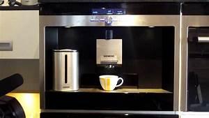 Video Demonstratie Siemens Koffiemachine