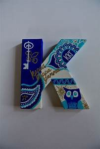 25 best canvas letters ideas on pinterest string With kappa kappa gamma stitched letters