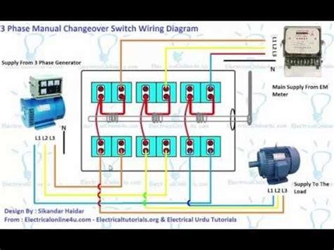 3 phase switch wiring diagram wiring electrical wiring