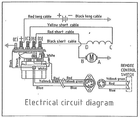 Best Images Remote Control Winch Wiring Diagram