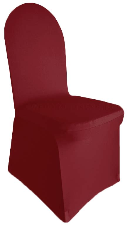 Burgundy Cover by Burgundy Banquet Spandex Chair Covers Wholesale