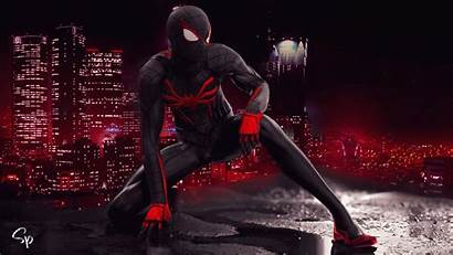 Spider Wallpapers Suit Ps4 Spiderman Morales Miles