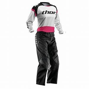8fc9bd9eed5 tenue enduro femme thor phase bonnie noir rose 2016. tenue cross femme fox  racing ...
