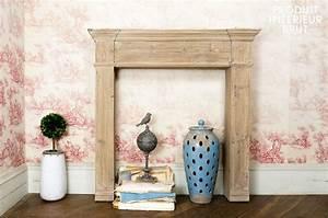 Cadre De Cheminée : cadre de chemin e en bois ancien pib ~ Melissatoandfro.com Idées de Décoration