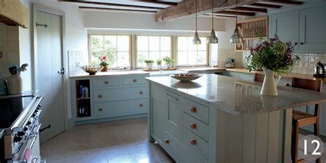 Barnes Green Post Office by Kitchen With Additional Storage In The Central Island By