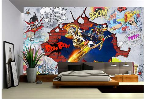 custom photo  wallpaper  woven mural picture
