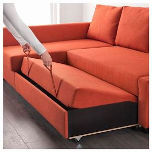 Sofa Bed Ikea : friheten corner sofa bed with storage skiftebo dark orange ikea ~ Watch28wear.com Haus und Dekorationen