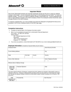 printable change request template forms fillable