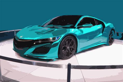 clapway new acura nsx supercar is super electric and
