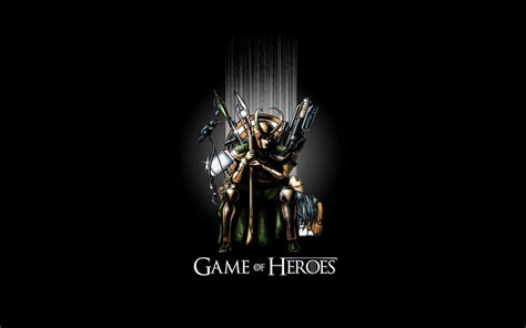 heroes  avengers game  thrones loki wallpaper