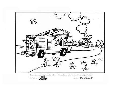 Brandweerhelm Kleurplaat by Kleurplaat Brandweer Afb 12685