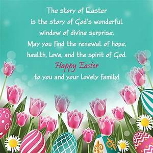 Easter Card Sayings and Messages | Easter messages, Easter ...