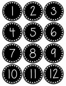 best 25 polka dot numbers ideas on pinterest bulletin With free printable number labels