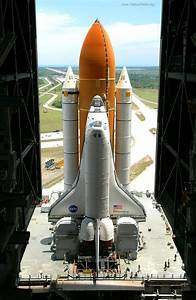 Space Shuttle Discovery exiting NASA's Vehicle Assembly ...