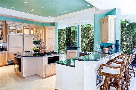 bright colored kitchens 36 inspiring kitchens with white cabinets and granite 1798