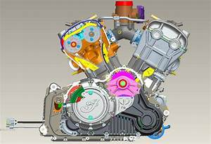 Cad Drawings Reveal Indian Scout Engine Design