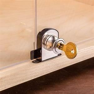 Glass Door Locks - Rockler Woodworking Tools
