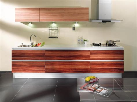 melamine board kitchen cabinet   ared china