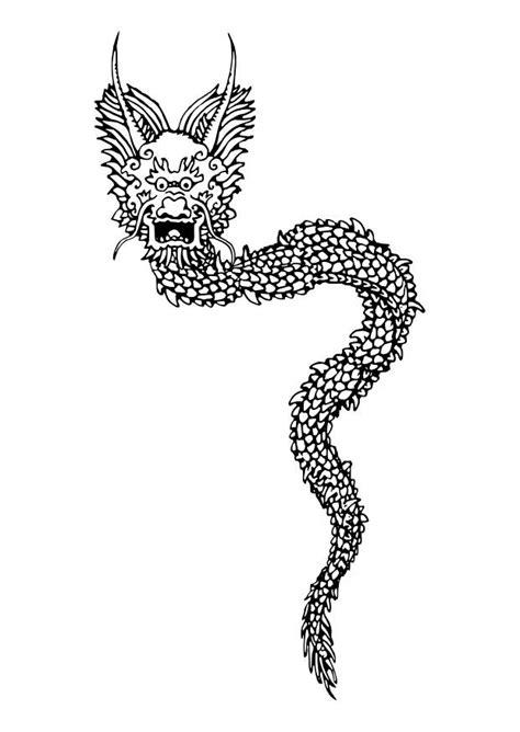 coloriage dragon chinois img
