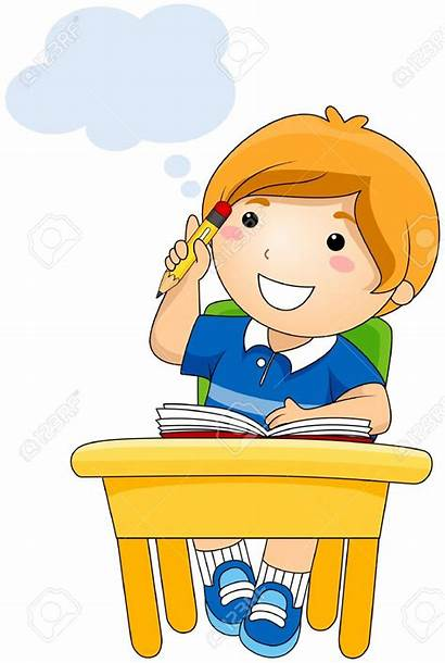 Clipart Writing Students Thinking Student Clip Clipartmag
