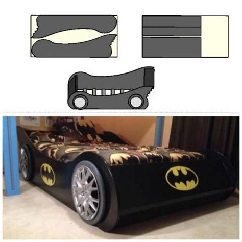 batmobile full bed plans    home projects