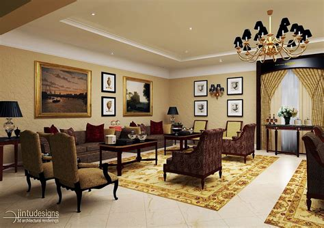 Elegant Traditional Formal Living Room Furniture With