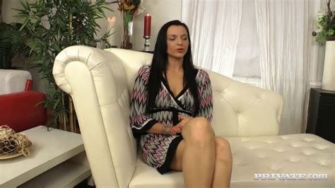 private lovely brunette anita gets screwed in the ass