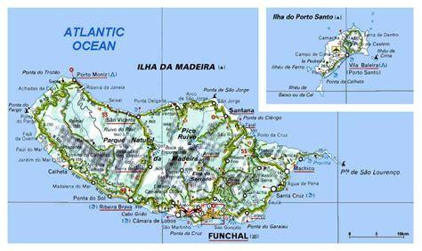 Carte Villes Maroc Détaillée by Infos Sur Ile De Madere Carte Geographique Arts Et Voyages