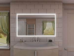 Beleuchtung Für Badspiegel : eleganter badspiegel mit steckdose und led rundum beleuchtung ~ Markanthonyermac.com Haus und Dekorationen