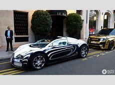 Bugatti Veyron 164 Grand Sport L'Or Blanc 8 August 2014