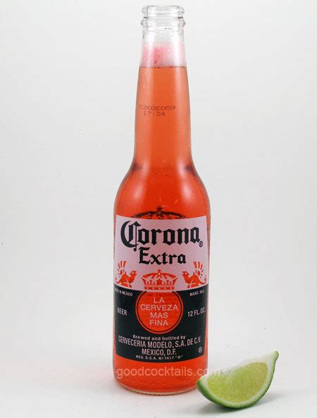 Good Cocktails   Corona And Grenadine Mixed Drink Recipe
