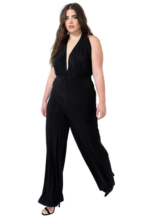 jumpsuits and rompers plus size halter jumpsuits dressed up