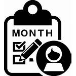 Icon Monthly Month Icons Assessment Svg Consultant