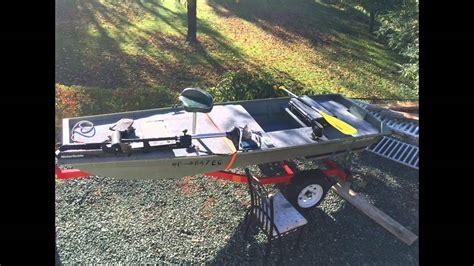 12 Foot Jon Boat by 12 Ft Jon Boat To Bass Boat Modification
