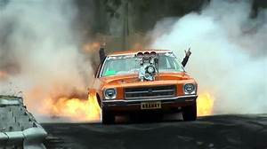 Blown Holden HQ Does the Most Fiery Burnout Ever ...