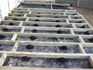 Terrasse Bois Sur Terre : terrasse bois sur sol en terre diverses ~ Dailycaller-alerts.com Idées de Décoration