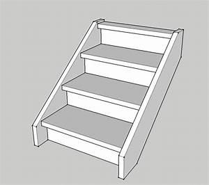 Marche Bois Escalier : escalier 3 marches bois escalier 3 marche bois sur ~ Premium-room.com Idées de Décoration