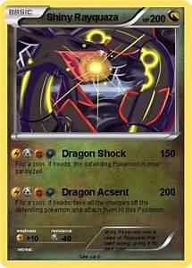 Pokémon Shiny Rayquaza 124 124 - Dragon Shock - My Pokemon ...