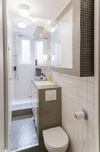 Petite salle de bain 34 photos idees inspirations for Photos petite salle de bain