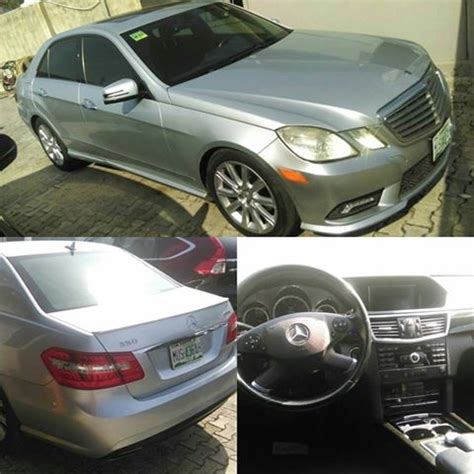 Mercedes benz cars are known as the most luxurious and premium cars in the world with stunning comfort and designs. FOR SALE:- 2010 Mercedes Benz E350 4matic **nigeria Used - Autos - Nigeria