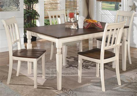 rectangle table with chairs alabama furniture market whitesburg rectangular dining