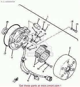 Yamaha Sr250 1980 Exciter1 Usa A  C  Generator